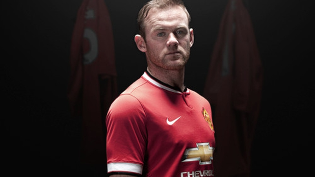 The 2014-15 Manchester United kit will be the last designed by Nike (Pic: @ManUtd)