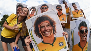 A few became life sized Panini stickers in the lead-up