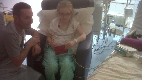Megan Carter underwent the treatment at Great Ormond Street Hospital