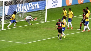 Thomas Mueller scored Germany's first