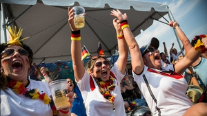 German fans watching in Rio were pleased to say the least