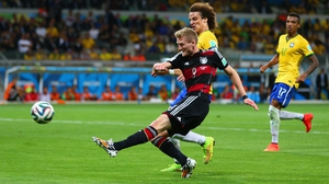 And just 10 minutes later, Schuerrle did it again, making the score an unbelievable 7-0 with just ten minutes to play