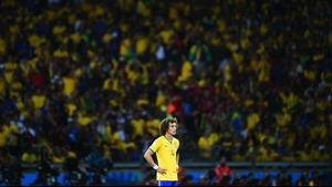 Luiz - who seemed nothing more than a ghost haunting the pitch - looked on at the scene of Brazil's greatest nightmare