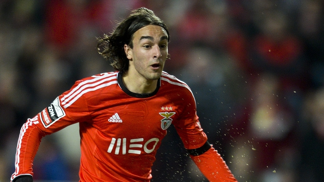 Benfica winger Lazar Markovic has been on Merseyside to undergo a medical