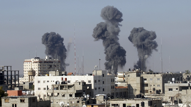 The IDF said it has now hit a total of about 430 targets