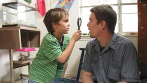 Boyhood documents the growth of 6-year-old Mason and his family over 12 years.