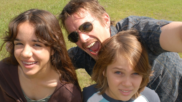 Ethan Hawkes plays Mason's dad in Boyhood.