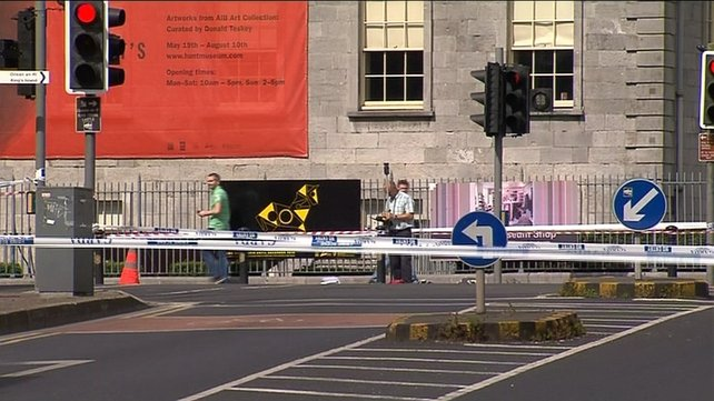 The collision involving the cyclist happened at the junction of Rutland Street, Fr Matthew Bridge, and Charlotte's Quay