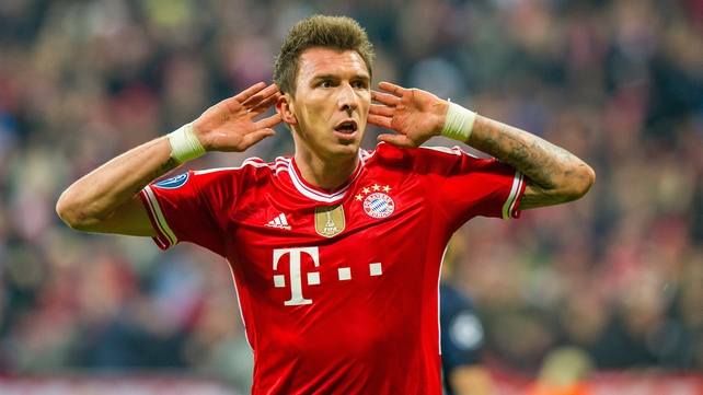 Mario Mandzukic is set for a move to the Spanish capital