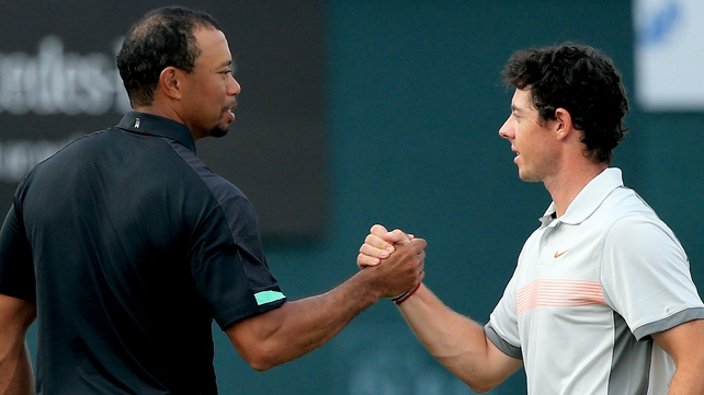 Rory McIlroy said Tiger Woods can not be written off at Hoylake, despite his poor form since returning from injury
