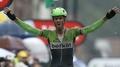 Boom wins Tour stage after carnage on cobbles