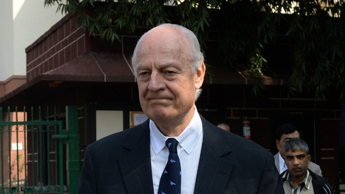 Staffan de Mistura is tasked with trying to end the deadlock over Syria