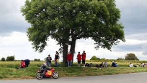 Spectators watching the action at the Skerries 100