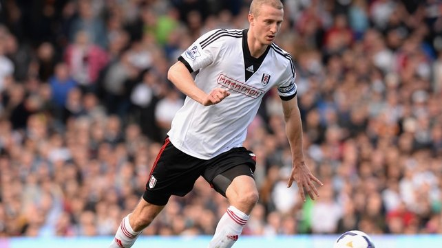 Brede Hangeland claimed he was notified of his release by email