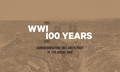 First World War commemorations