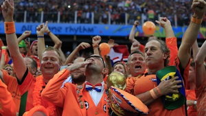 And Netherlands fans praised the heavens when the superstar failed to convert