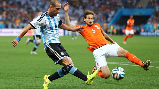 Daley Blind was part of the Holland squad in the World Cup
