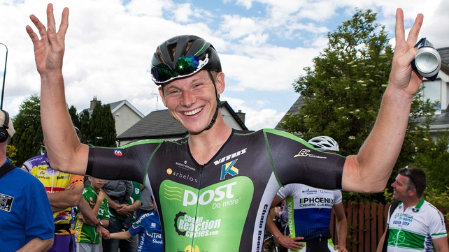 Ryan Mullen praised the efforts of his team-mates in his road race success