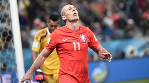 Robben lamented his mistake, which helped to send the match into extra time