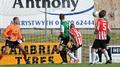 Derry annihilate Aberystwyth to advance