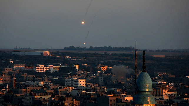 Militants have fired 520 mortar rounds and rockets that struck Israel