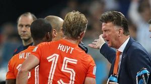 Louis van Gaal 'just wants to win things', according to Dirk Kuyt
