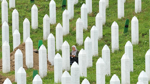 6,066 people have been exhumed from mass graves in the Srebrenica region for reburial in the Potocari cemetery