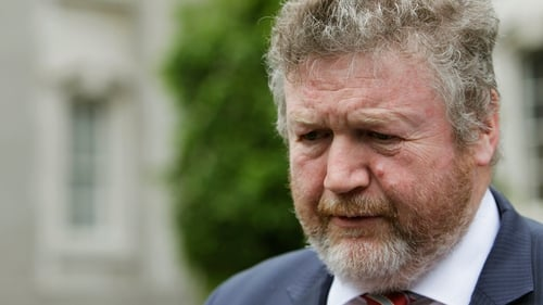 James Reilly had been in Bluebell to attend the launch of the National Youth Strategy 2015-2020