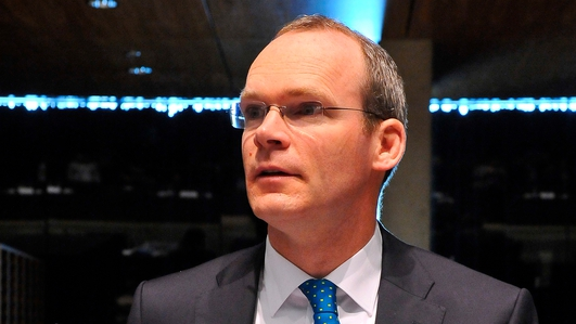 Political reaction to Coveney's comments on FG/FF coalition
