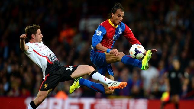 Chamakh scored six goals for Palace last season