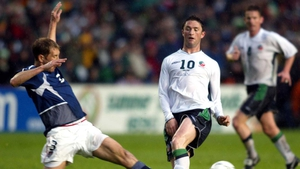 The sides last met in 2002 when the Republic of Ireland won 2-1