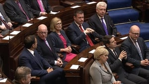 Pascal Donohoe, Alan Kelly, Jan O'Sullivan, Alex White and Heather Humphreys have joined the Cabinet
