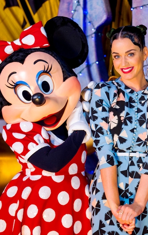 Katy Perry joined Minnie Mouse at Walt Disney World Resort, Florida.