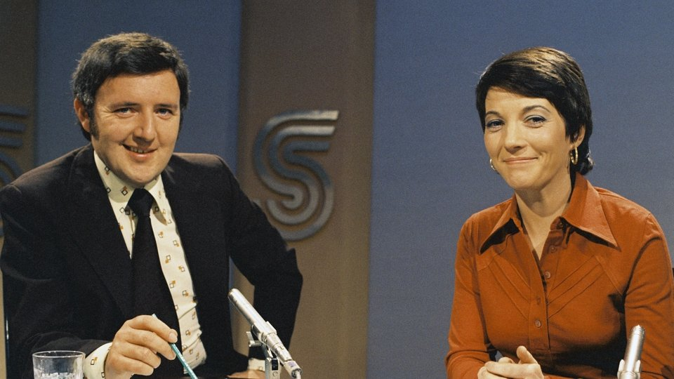 From 1972, on the Sunday Sports Show with Irene Fenton
