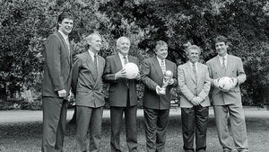 Bill with the RTÉ panel for the USA 1994 World Cup