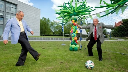 Ossie Ardiles and Bill O'Herlihy