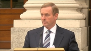 Enda Kenny met with families of the bereaved by Omagh bombing