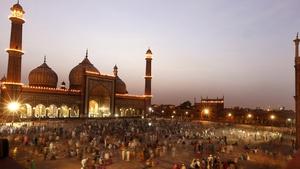 Ramadan celebrations as the Sun sets