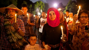 Indonesians call for peace in Palestine