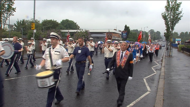 Orange Order parade passes off peacefully in Belfast