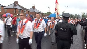 This year's 12 July parades in Belfast passed off peacefully