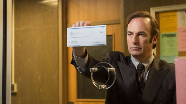Bob Odenkirk as Saul Goodman in Season One, Episode One of Better Call Saul. Pic: Ursula Coyote (AMC)