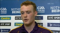 Man of the Match Jack Guiney on Wexford's relief in finally getting past Clare in their qualifier encounter.