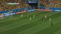 Goal: Brazil 0-1 Netherlands