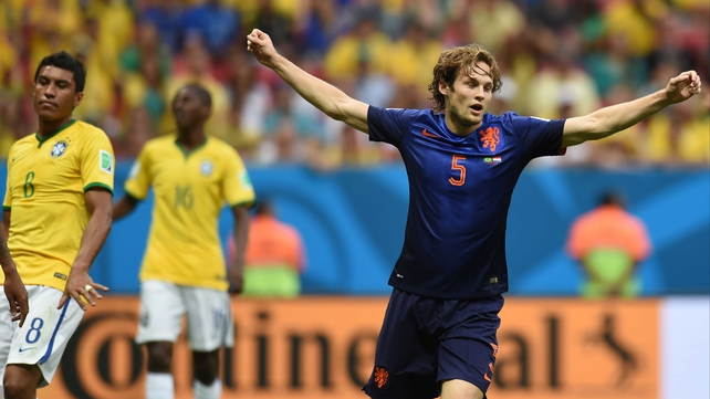 Daley Blind is believed to be a target for Louis Van Gaal