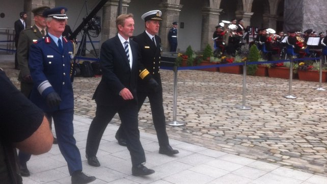 Taoiseach Enda Kenny and heads of State all are attending the ceremony