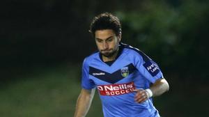 Samir Belhout scored the winner for UCD