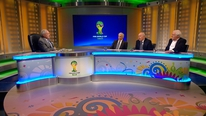 John Giles, Liam Brady and Eamon Dunphy compared Ireland to other smaller nations that did qualify for the 2014 World Cup