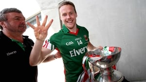 Four in a row: Mayo's Andy Moran celebrates another Connacht title