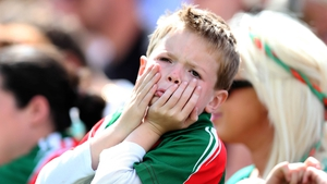 This young Mayo fan lived and breathed every moment of the Connacht football final